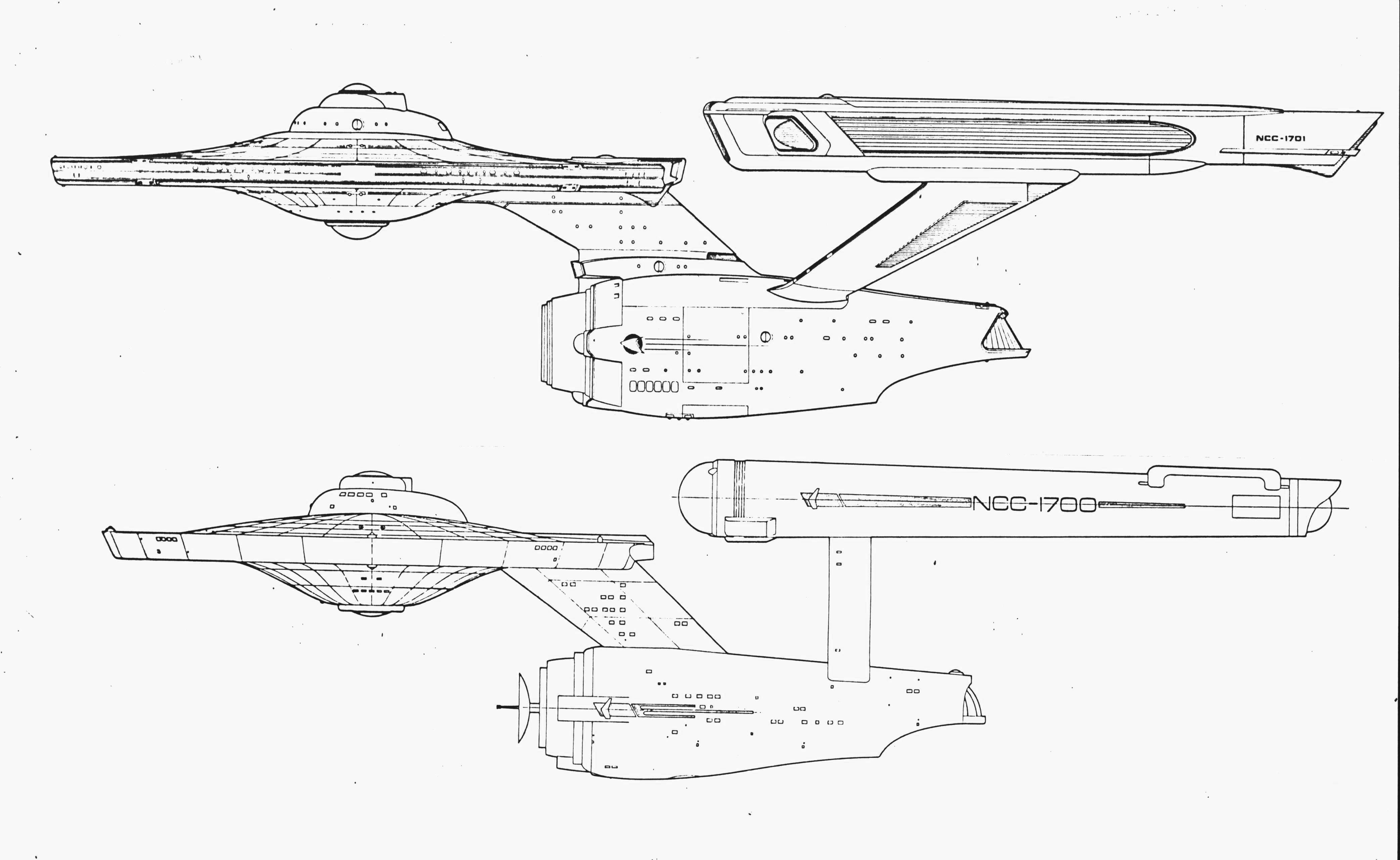 Enterprise Old and New Profile