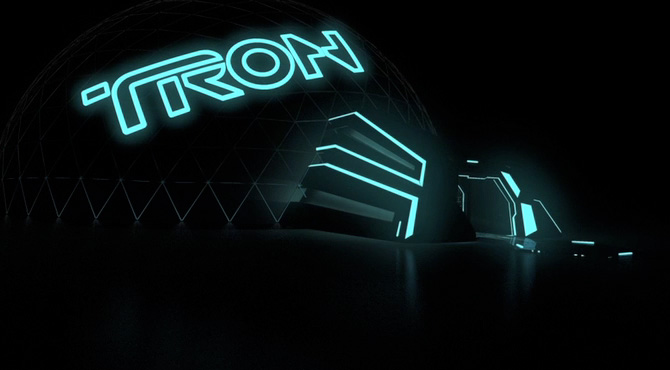 TRON 3D Dome Concept Demo: 2009