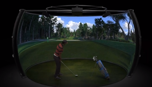 3SpaceVR Golf Simulator